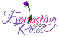 Everlasting Wooden Roses