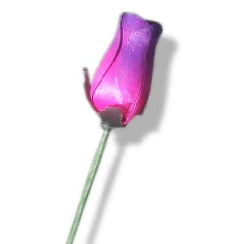 Single-Wooden-Rose-PinkPurple